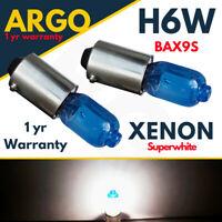 H6w Xenon White Bayonet 433 434 T4w Bax9s Super Bright Car Xenon Side Light 12v