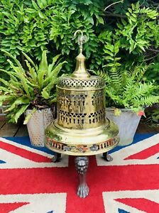 Victorian Decorative Solid Brass and Steel Room or Outdoor Hunt Brazier (Heater)