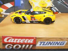 Carrera GO!!! CorvetteC7 R Tuning : Rennmotor Magnet,Reifen Vorderachse.NEU!
