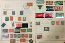 Lot of Dominican Republic Old Stamps Used/MH