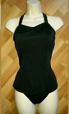 Gorgeous black RIVIERA swimming bathing suit costume size 16