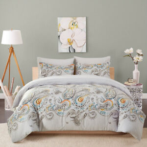 Printed Duvet Quilt Cover Pillowcase Comfort Bedding Sets Twin Queen King Size