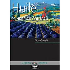 DVD L'écran créatif - Huile - peindre au couteau - Vol 3
