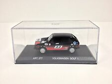 1/43 Detail Cars 1974 Volkswagen Golf I Rabbit Rally Car Silverstone -NEW-