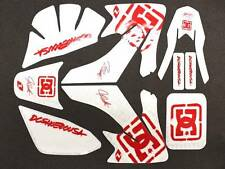 DIRT BIKE PIT BIKE DC GRAPHICS DECAL STICKERS FOR HONDA CRF50 XR50 9 DE01