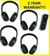 4 headphones & 1 DVD REMOTE 2007-08 Ford Edge 07-12 Ford Expedition 09 Ford Flex
