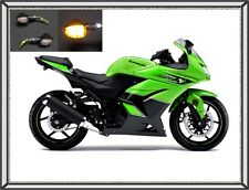 2008 - 2012 250R Ninja TARGA Fender Eliminator Tail Kit LED Signals &+ Pan + Tag