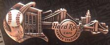 2017 Hard Rock Cafe New York Yankee Stadium 3D Skyline Guitar Core Pin