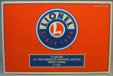 """Lionel O Gauge 31"""" Path Remote Control Right Hand Switch turnout turn 6-14063"""