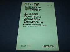 HITACHI ZAXIS 450 LC H LCH EXCAVATOR EQUIPMENT COMPONENT PARTS MANUAL BOOK