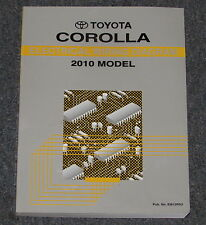 2010 Toyota Corolla Electrical Wiring Diagram Service Manual