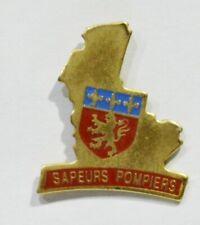 PINS SAPEUR POMPIER 69 LYON FORME DEPARTEMENT