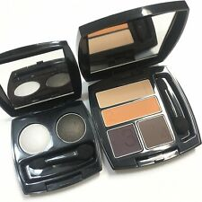 AVON True Color Eyeshadow Quad Duo Desert Sunset Satin Smoke Mirror Compact New