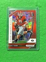 JAKE FROMM RED PRIZM CARD JERSEY #11 GEORGIA RC 2020 Prizm DP BILLS ROOKIE RC