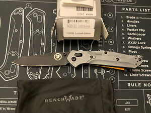 Benchmade 940BK-600 NRA #112/500 — New