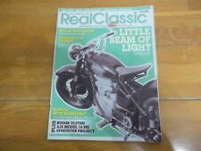 * REAL CLASSIC MAGAZINE #49 SUNBEAM INDIAN WOODSMAN ENFIELD TRIUMPH TRIDENT AJS