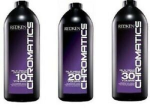 Redken Chromatics Oil in Cream Developer 32 oz. (CHOOSE YOUR VOLUME)