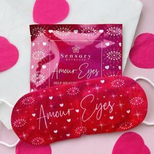 Sensory Retreats Amour Eyes Self-Heating Eye Masks - Rose Scent - Relax & Sleep
