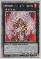 3x Yugioh CT11-EN001 Brotherhood of the Fire Fist - Tiger King Secret Rare Card