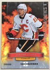 2007-08 JAROME IGINLA HOT PROSPECTS HOT COMMODITIES #118 FLAMES #089/999