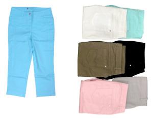 C & A Ladies Cotton 3 Quarter Pants Comfort Fit