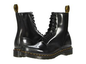 Women's Shoes Dr. Martens 1460 8 Eye Leather Boots 26057040 SILVER ARCADIA