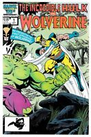 Incredible Hulk and Wolverine #1 (10/1986) Marvel Comics Reprints #180-182 Hulk