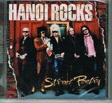 HANOI ROCKS - STREET POETRY (DEMCD161) JEWEL CASE VERSION CD