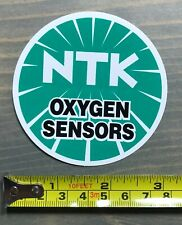 "NTK Sticker Decal Spark Plugs NGK 3"" Oxygen Sensors Nascar Racing Car BMX"