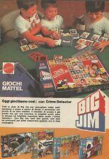 X9047 Big Jim - Oggi giochiamo con Crime Detector - Pubblicità 1977 - Advertis.
