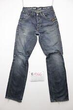 G-star men jack pant boyfriend jeans usato (Cod.E1066) Tg 45 W31 L34