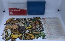 "Vintage Cadaco 1964 Cluster Puzzle Jumble-Fits Series 1 ""Animals"" Rare"