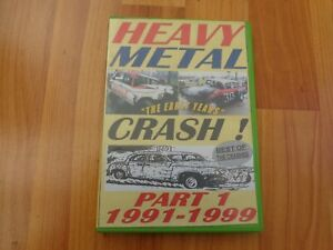 RARE BANGER RACING HEAVY METAL CRASH 'THE EARLY YEARS' 1991-1999 PART 1 DVD