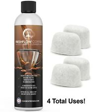 4 USE Supply of Cleaner for Keurig +4 Filters Coffee Descaling Solution Descaler