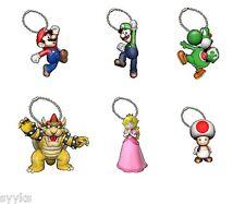 DyDo Coffee X Nintendo Super Mario Bros. 3D Figure Collection (6) Complete Set