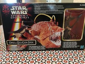Star Wars Episode 1 Opee &Qui Gon Jin New In Box