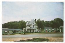 Woods Motor Court Franklin North Carolina postcard