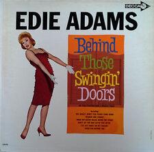 EDIE ADAMS - BEHIND THOSE SWINGIN' DOORS - DECCA LP