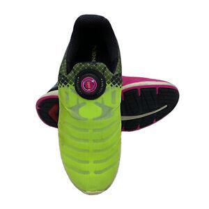 Puma Ignite Disc Tricks ID Mens Running Sneakers Sz 8 US Pink Yellow Rare