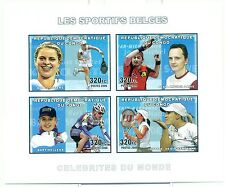 TENNIS, PING PONG & CYCLING - CONGO 2006 set imperforated