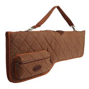 Tourbon Vintage Shotgun Case Take down Soft Wax Canvas Gun Bag Special Offer