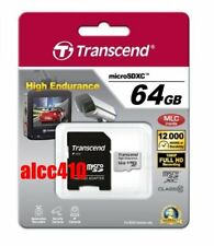 Transcend High Endurance 64GB Class 10 MicroSDXC Card - (TS64GUSDXC10V)