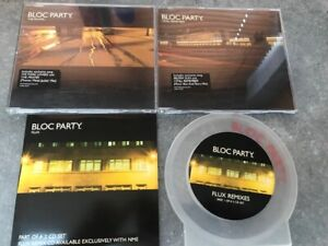 BLOC PARTY FLUX REMIXES AND WEEKEND IN THE CITY SINGLES 4 DISC BUNDLE