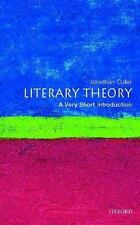Literary Theory: A Very Short Introduction (Very Short Introductions)-ExLibrary