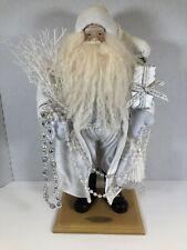 2004 Limited Edition Dept 65 Old World Santa Collection White Santa Christmas