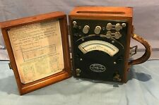 Vintage Weston Calibration  AC DC Wattmeter Model 310