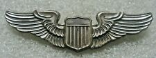 /US Army Air Force Badge Pilot Wings,NS MEYER INC,sterling
