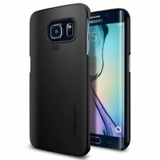 Spigen Thin Fit Case - To Suit Samsung Galaxy S6 Edge - Smooth Black