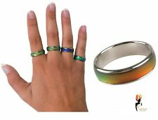 Genuine Tobar MOOD RING Colour Changing Emotion Rings Party Favours Party Gift