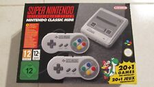 CONSOLA SUPER NINTENDO CLASSIC MINI SNES ENTERTAINMENT SYSTEM - NUEVA SIN ABRIR